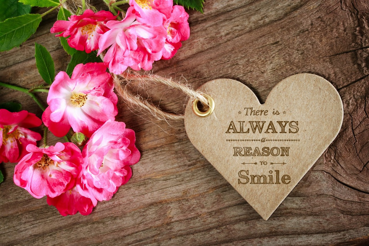 There Is Always A Reason To Smile! Motivational Message